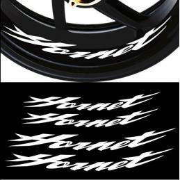 4 X STICKER LISERET JANTE LOGO HONDA HORNET 600 900