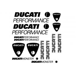 Planche 14 Stickers Ducati