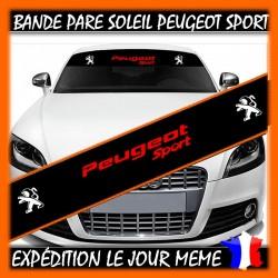Bande Pare-Soleil Peugeot Sport