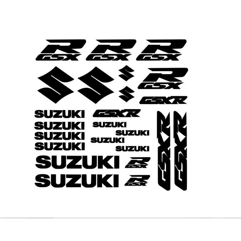 Kit de 24 Stickers SUZUKI GSXR