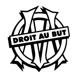 Stickers OM Marseille Droit...