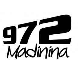 Stickers Martinique Madinina 972