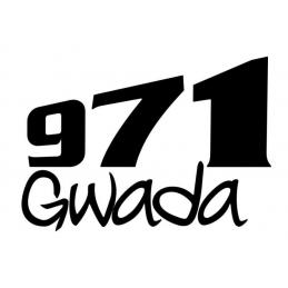 Stickers Gwada 971