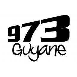 Stickers Guyane 973