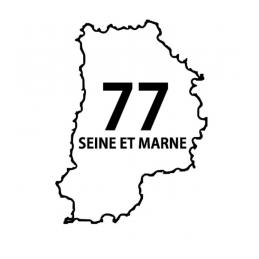 Stickers Seine et Marne 77