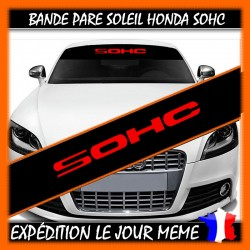 Bande Pare-Soleil Honda SOHC