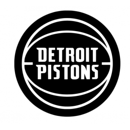 Stickers Detroit Pistons