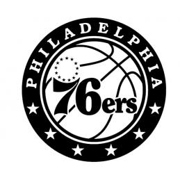 Stickers Philadelphia 76ers