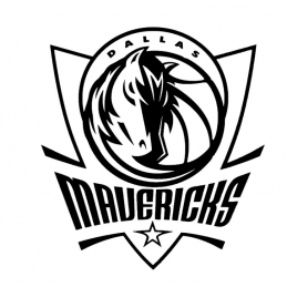 Stickers Dallas Maverick