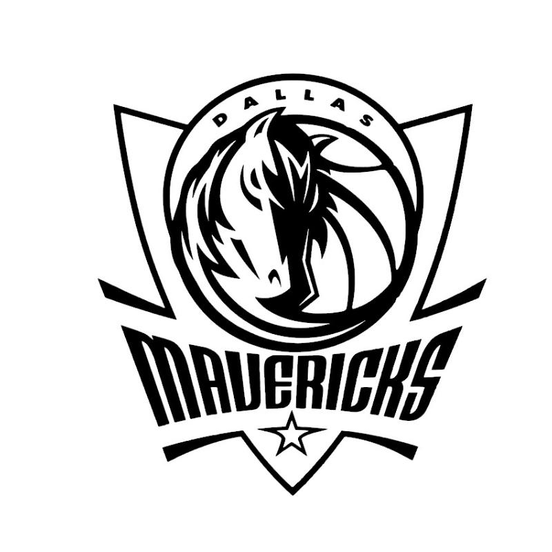 Stickers Dallas Maverick
