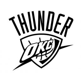 Stickers Oklahoma City Thunder