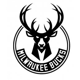 Stickers Milwaukee Bucks