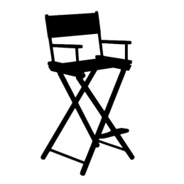 Sticker Chaise Haute Cinéma