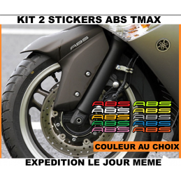 2 Stickers ABS Yamaha Tmax