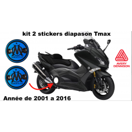 Stickers Cache Carter TMAX OM