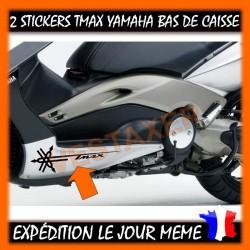Stickers Bas De Caisse TMAX