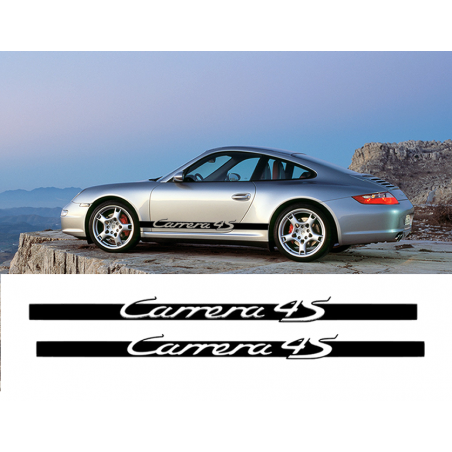Bandes latérales Carrera 4S