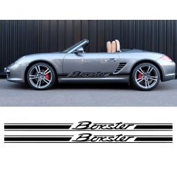Bandes latérales Porsche Boxster