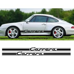 Bandes latérales Porsche Carrera 2