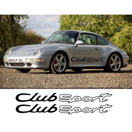 Bandes latérales Porsche Club Sport