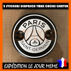 Stickers Cache Carter TMAX PSG