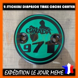 Stickers Cache Carter GWADA 971