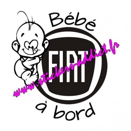 Bébé à Bord Fiat