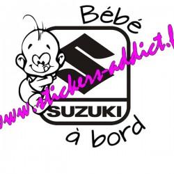 Bébé à Bord SUZUKI