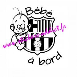Bébé à Bord Barça