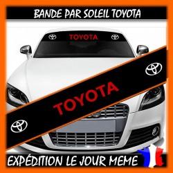 Bande Pare-Soleil Toyota