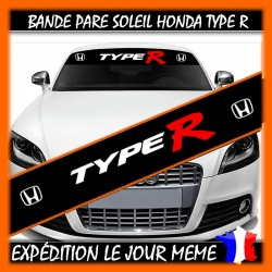 Bande Pare-Soleil Honda Type R