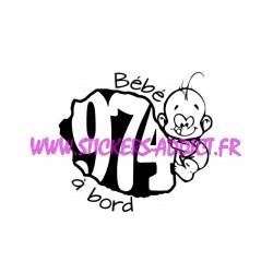 Bébé à Bord 974