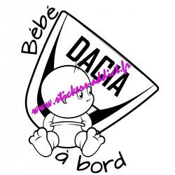 Bébé à Bord Dacia
