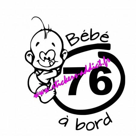 Bébé à Bord 76 (Seine-Maritime)