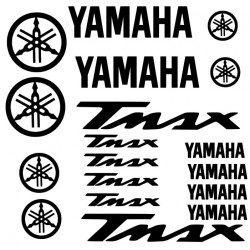 Kit de 18 Stickers Yamaha Tmax