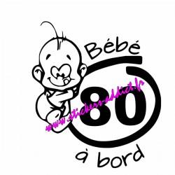 Bébé à Bord 80 (Somme)