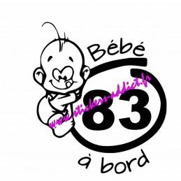 Bébé à Bord 83 (Var)
