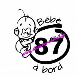 Bébé à Bord 87 (Haute-Vienne)