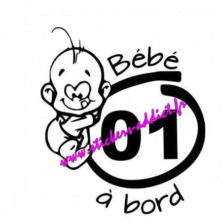 Bébé à Bord 01 (Ain)
