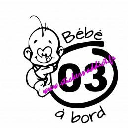 Bébé à Bord 03 (Allier)