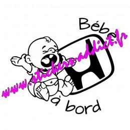 Bébé à Bord Honda