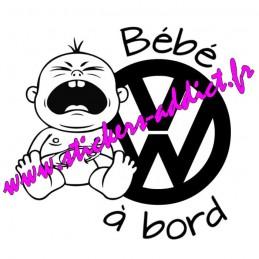Bébé à Bord VW Volkswagen