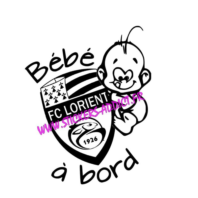 Bébé à Bord FC LORIENT