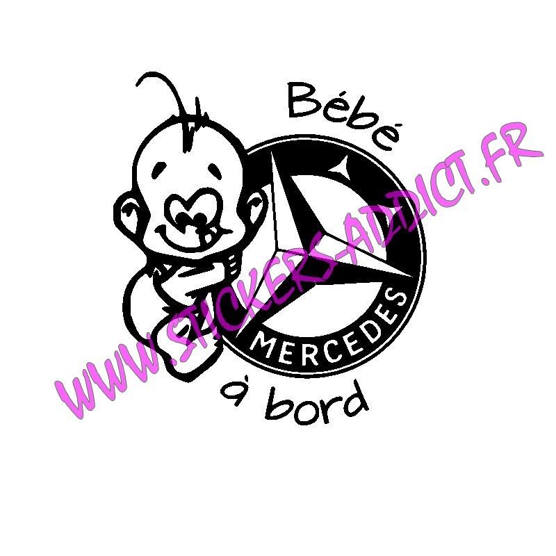 Bébé à Bord Mercedes
