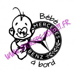 Bébé à Bord Mercedes 2