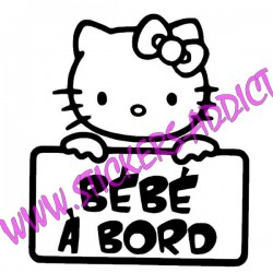 Bébé à Bord Hello Kitty 2