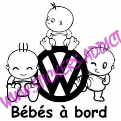 Bébés à Bord Volkswagen VW 2