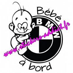 Bébé à Bord Bmw