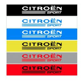 Bande Pare-Soleil Citroen Sport