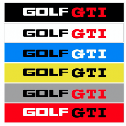 Bande Pare-Soleil Golf GTI
